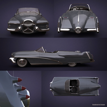 BUICK LE SABRE 1951 EXTENDED LICENSE image 3