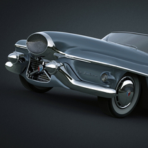 BUICK LE SABRE 1951 EXTENDED LICENSE image 5