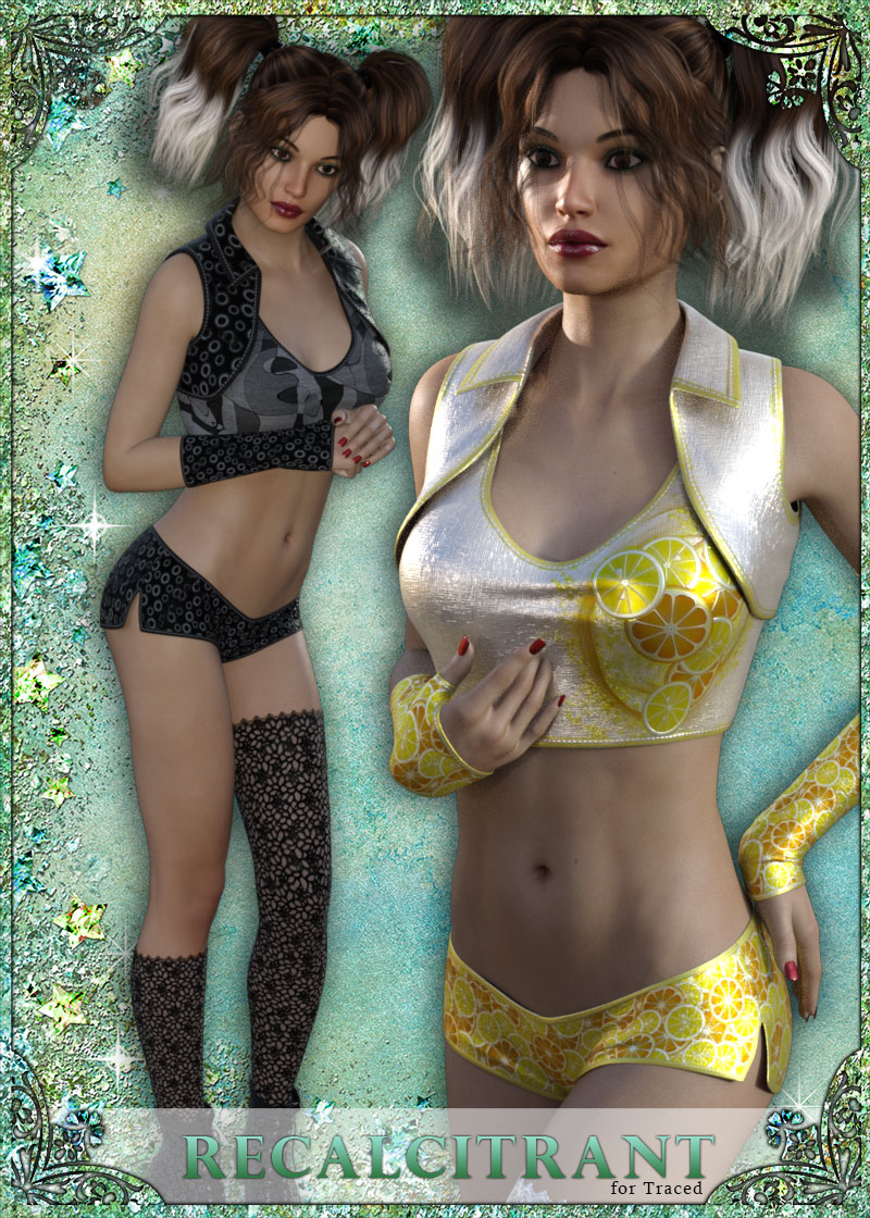 Recalcitrant for Traced Outfit by sandra_bonello