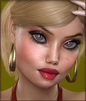 TDT-Elina for Genesis 3 Female 3D Figure Assets Deva3D