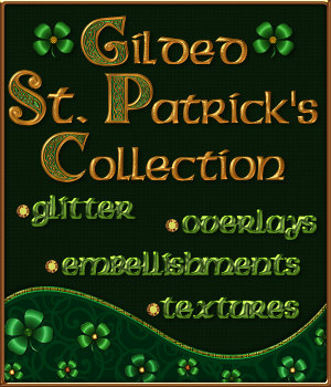 Gilded St. Patrick's Collection 2D Graphics Merchant Resources fractalartist01