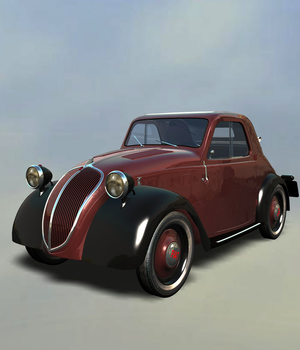 FIAT TOPOLINO EXTENDED LICENSE 3D Models Extended Licenses Nationale7