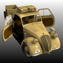 FIAT TOPOLINO LIGHT STAFF EXTENDED LICENSE image 1