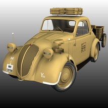 FIAT TOPOLINO LIGHT STAFF EXTENDED LICENSE image 4