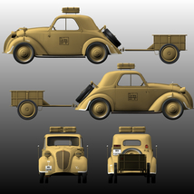 FIAT TOPOLINO LIGHT STAFF EXTENDED LICENSE image 6