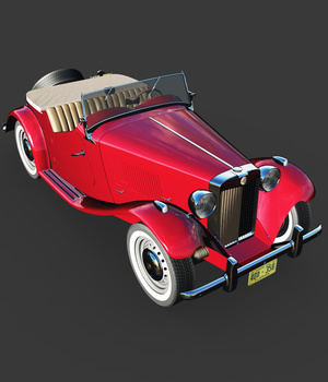 MG TD EXTENDED LICENSE 3D Models Extended Licenses 3DClassics