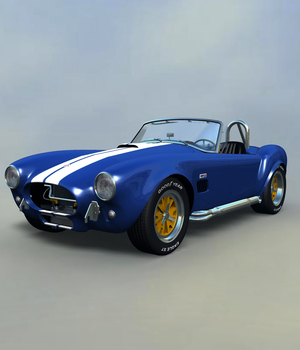 SHELBY COBRA EXTENDED LICENSE 3D Models Extended Licenses Nationale7