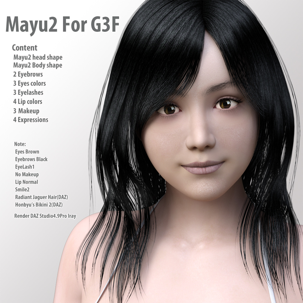 Mayu2 for G3F