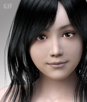 Mayu2 for G3F 3D Figure Assets kobamax