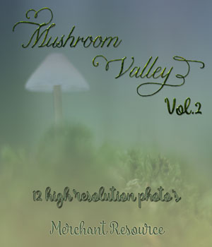 Mushroom Valley Vol.2 2D Graphics Merchant Resources Mystique-