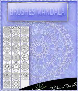 Brushes Mandala 2D Graphics Merchant Resources Perledesoie