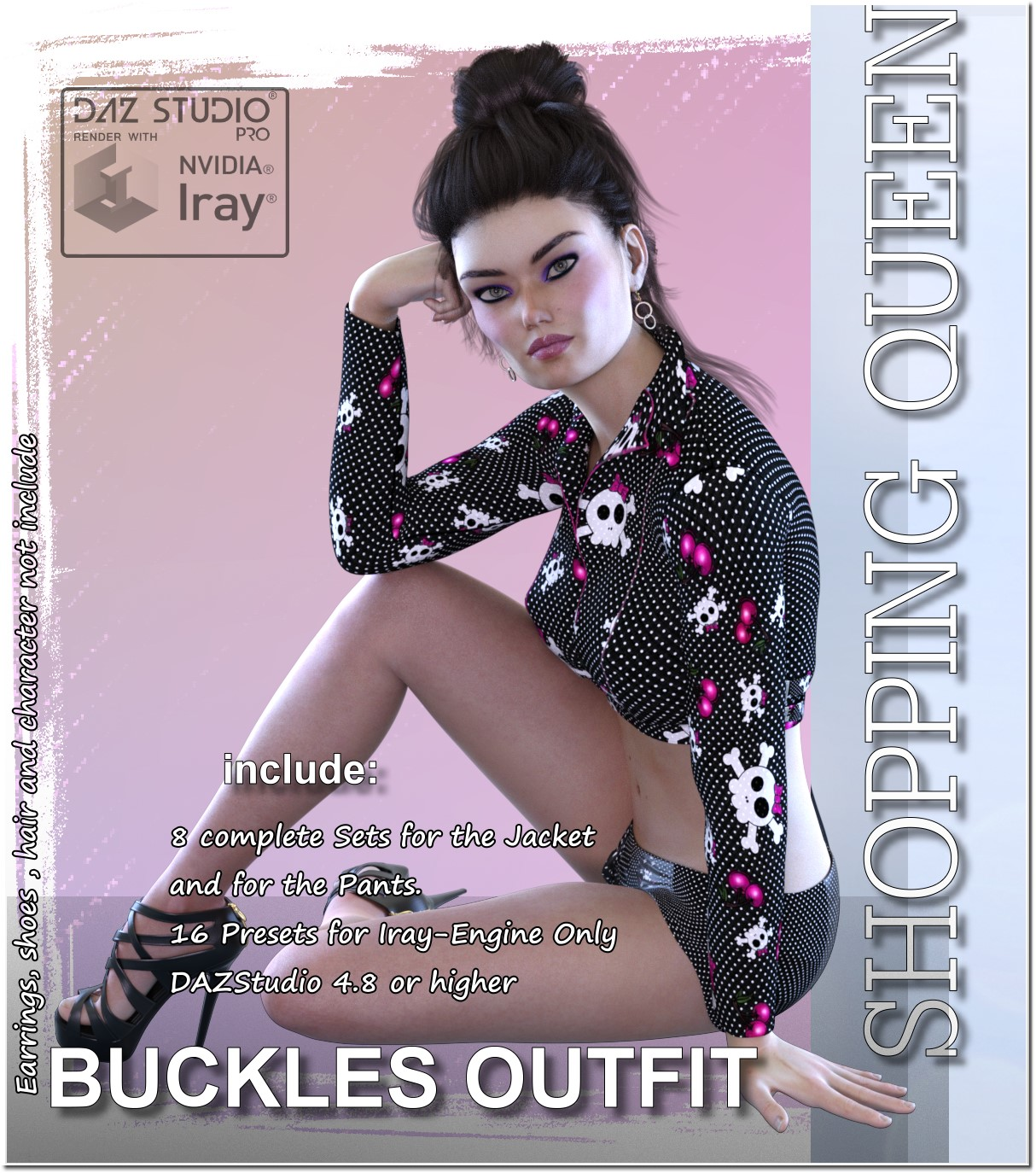 Shopping Queen: for Buckle Outfit by LUNA3D