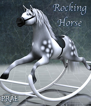 Rocking Horse EXTENDED LICENSE 3D Game Models : OBJ : FBX 3D Models Extended Licenses prae