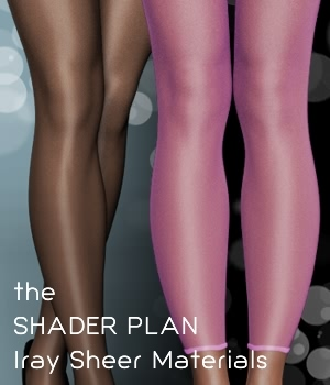 Shader Plan - Iray Sheers and Pantyhoses by fabiana