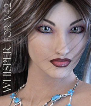 Whisper for V4.2 3D Figure Assets FantastArt