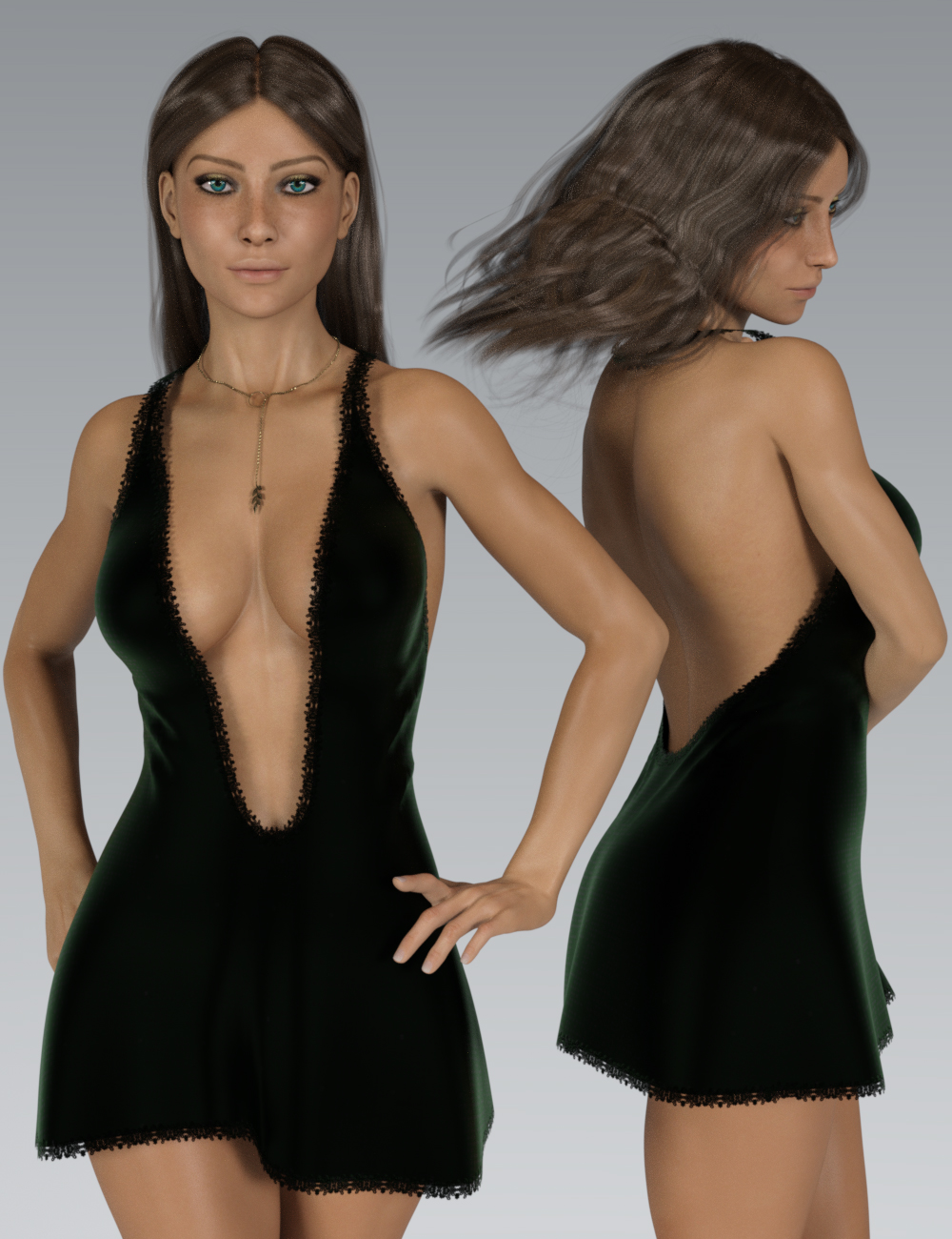 InStyle - Flirt G3F by -Valkyrie-