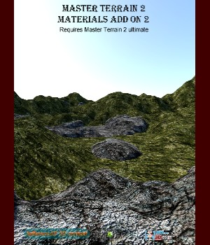 Master Terrain 2 Materials Add On 2 3D Figure Assets 3D Models JeffersonAF