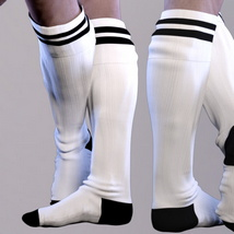 More Fun Socks Pack for Genesis 3 Males image 10