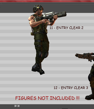 M4 MISSION PACK ANIMATION  3D Figure Assets John-Katris