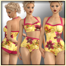 Faxhion - Vintage Swimwear image 1