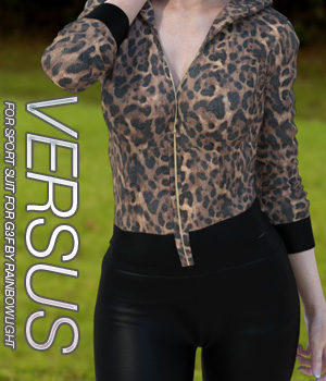 VERSUS - Sport Suit for Genesis 3 Females 3D Figure Assets Anagord