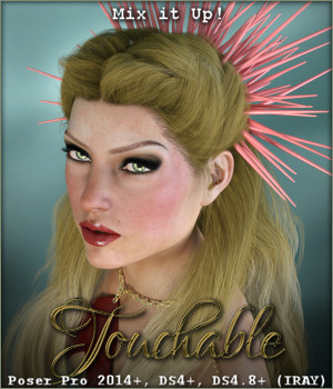 Touchable Reyna 3D Figure Assets -Wolfie-