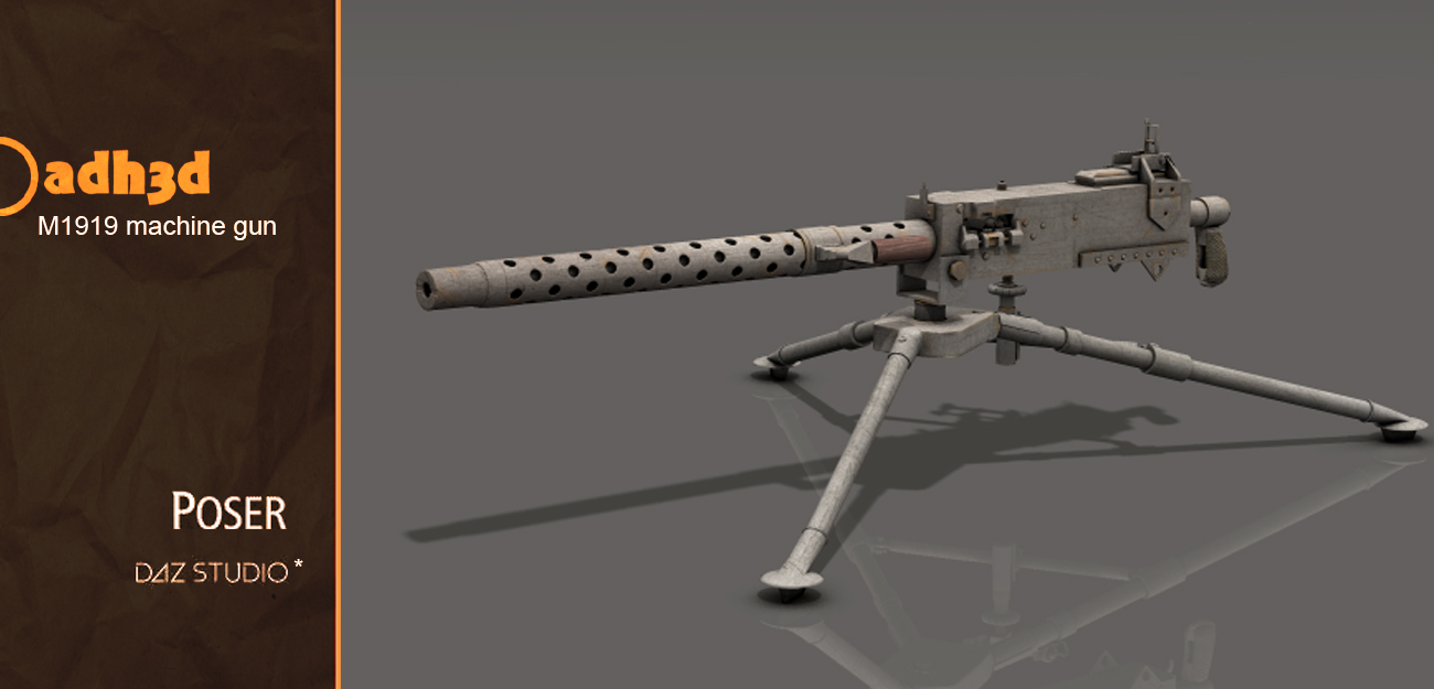 M1919 machine gun - Extended License
