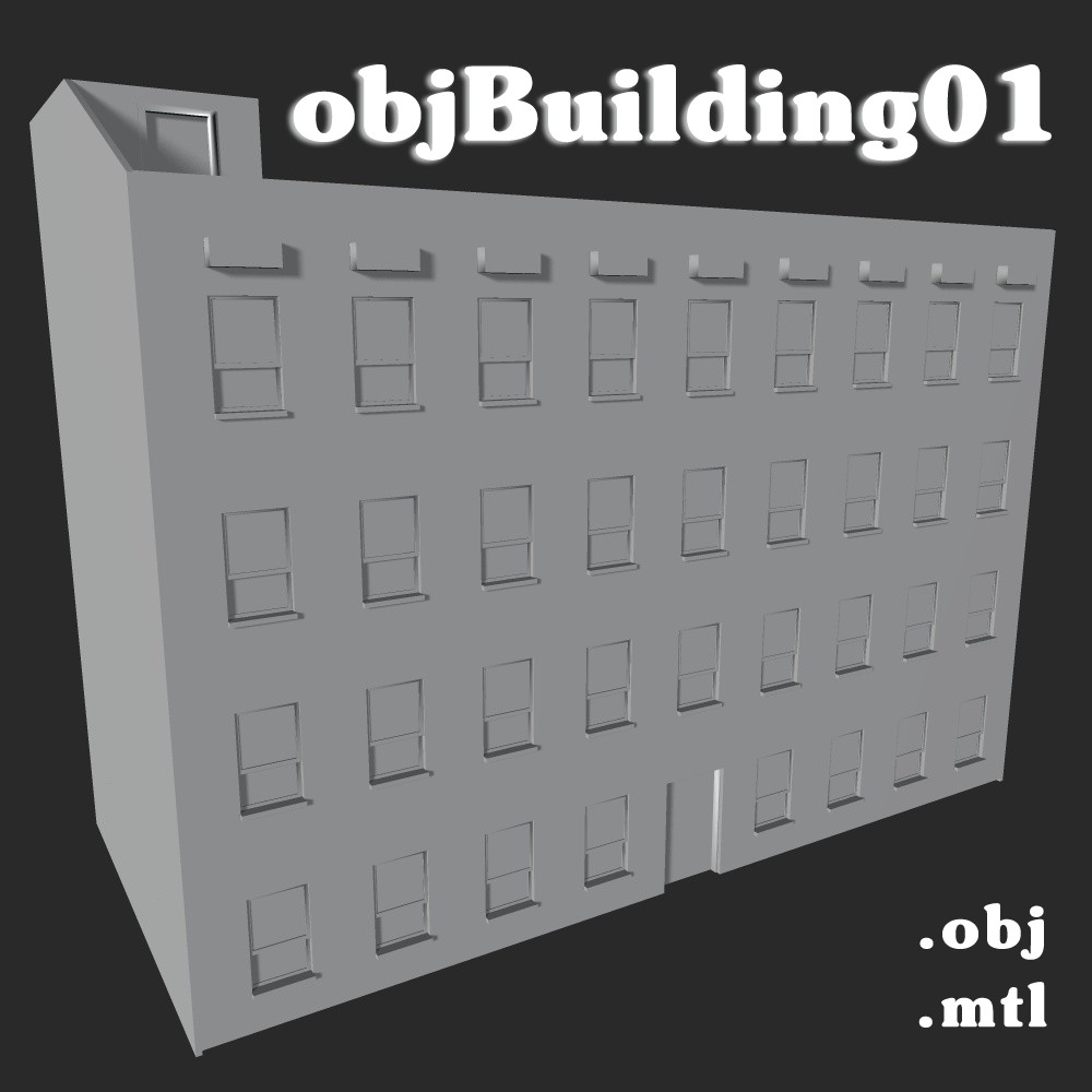 objBuilding01 - Extended Licence by greenpots