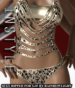 InStyle - Sexy Ripped for Genesis 3 Female(s) 3D Figure Assets -Valkyrie-