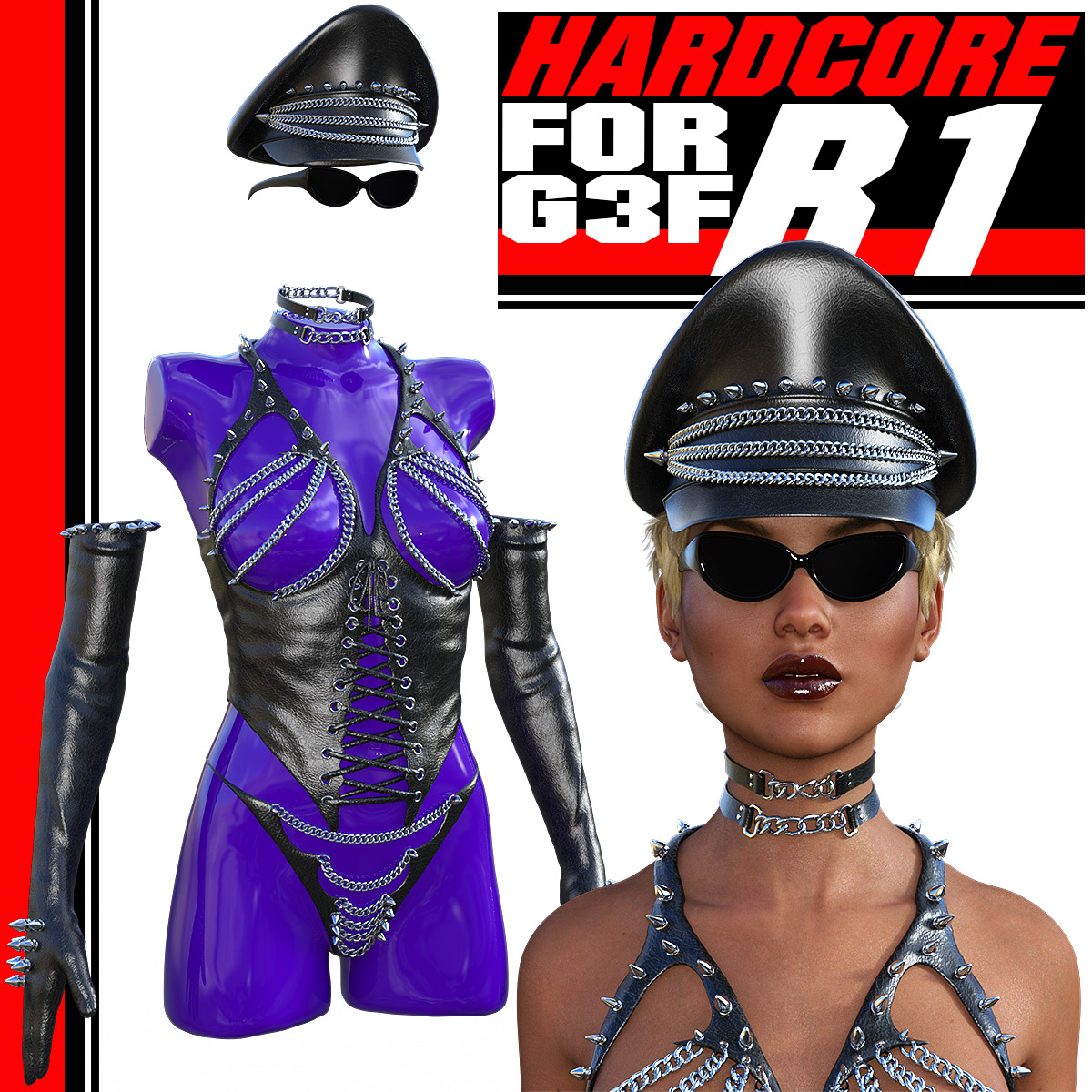 HARDCORE-R1 for G3 females