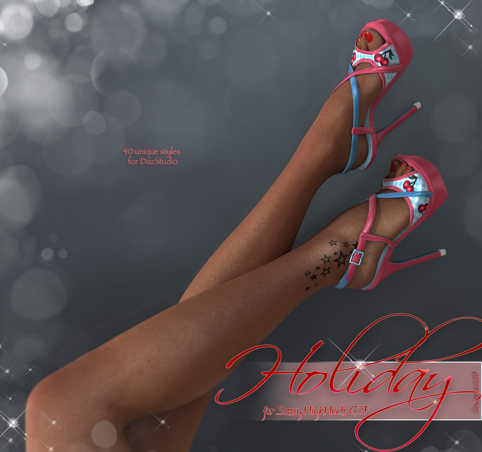 Holiday Sassy Heels G3F