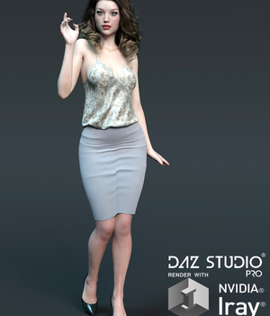 ZenGarden for Casual Couture Outfit 3D Figure Assets Lionlady
