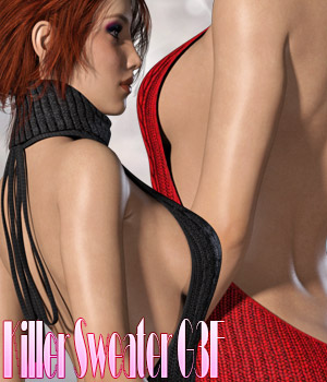 Killer Sweater G3F 3D Figure Assets kaleya