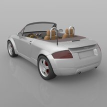 Audi TT 2001 in 3ds and obj format - Extended License image 7