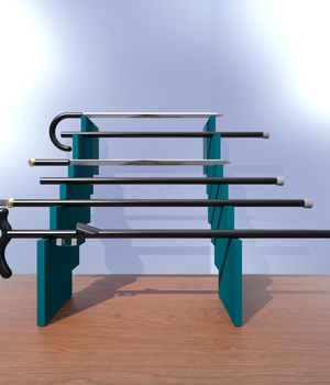 Cane Weapons 3D Models 3D-Morpher