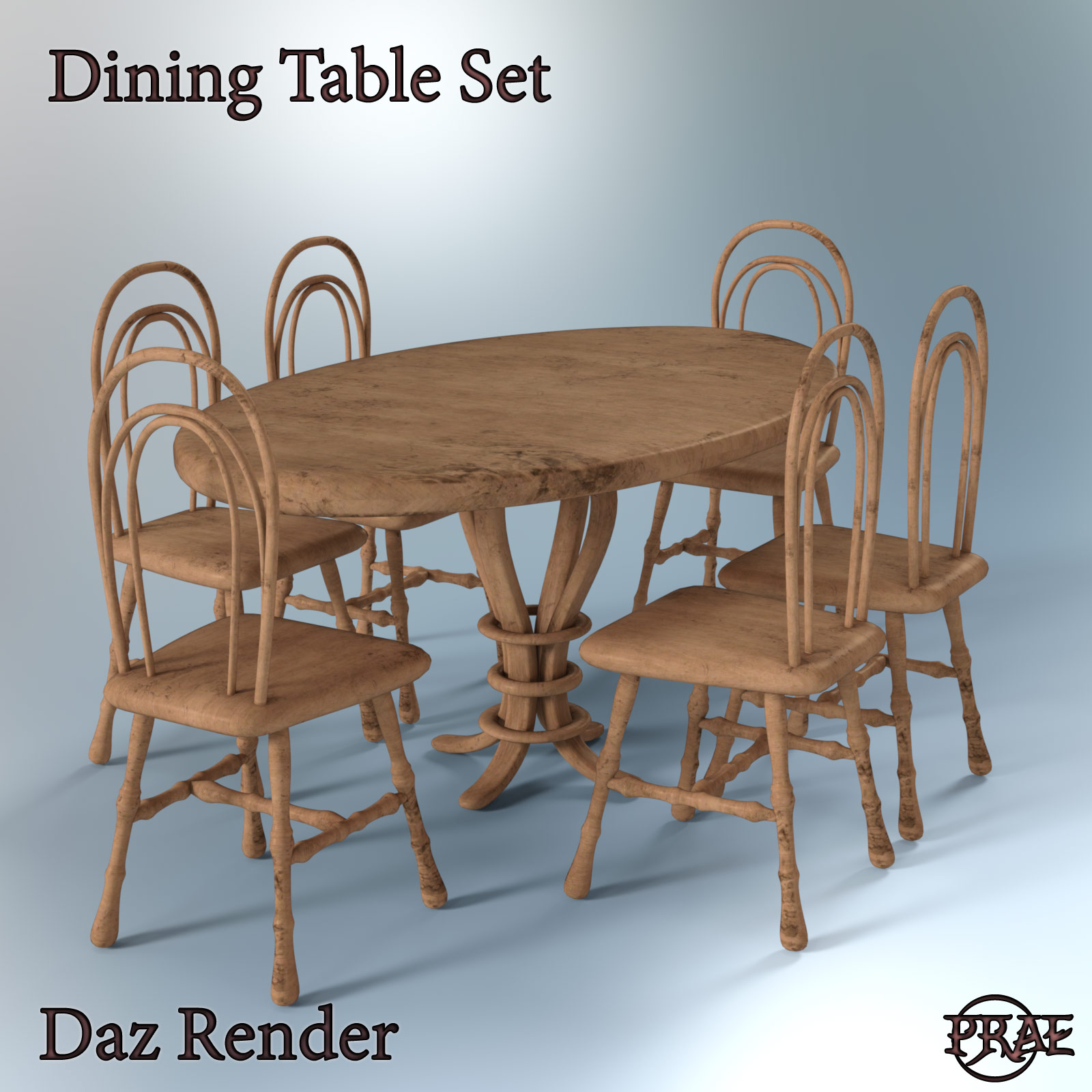 Prae-Dining Table Set EXTENDED LICENCE