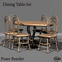 Prae-Dining Table Set EXTENDED LICENCE image 2