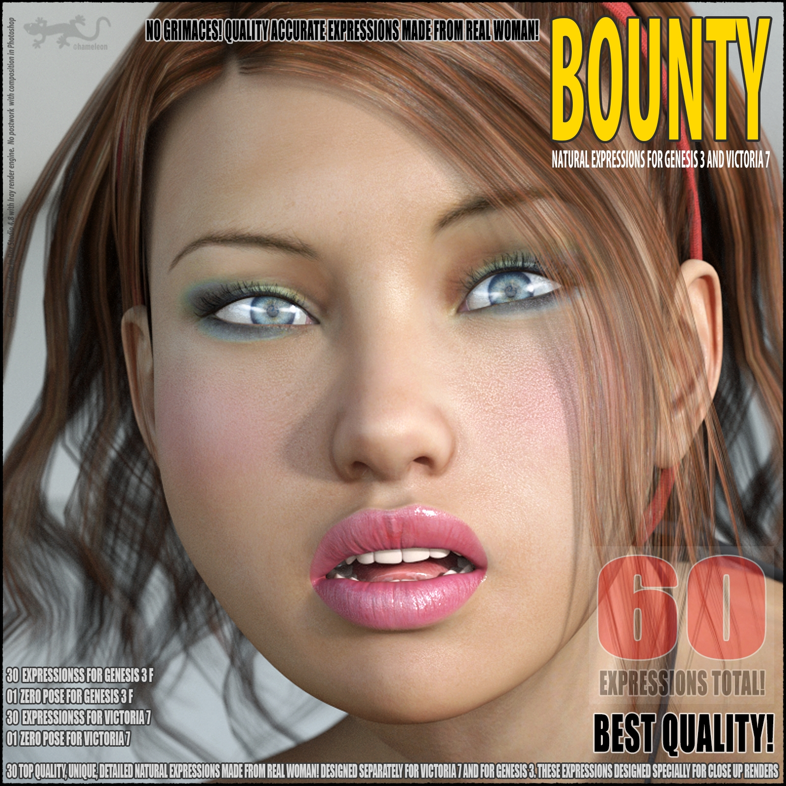 Bounty - expressions for G3 and V7