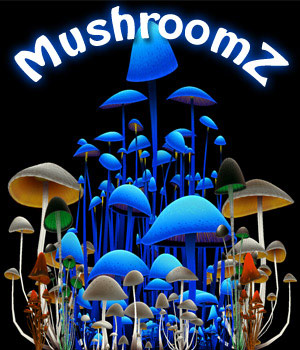 MushroomZ Set1 - Extended License 3D Game Models : OBJ : FBX 3D Models Extended Licenses Poisen