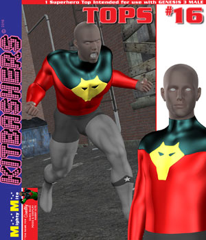 Kitbashers_Tops-016 -- By MightyMite for G3M 3D Figure Assets MightyMite