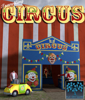 Travelling Circus 3D Models BlueTreeStudio