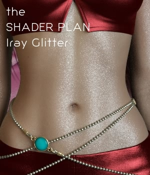 Shader Plan - Iray Glitter Shaders and G3F Materials by fabiana