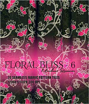 FLORAL BLISS - 6 2D Graphics RajRaja