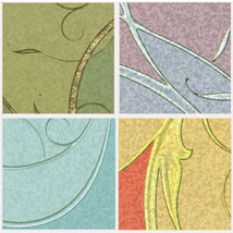 Decorative Panels - Swirls and Branches image 1