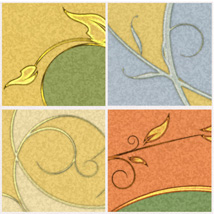 Decorative Panels - Swirls and Branches image 3