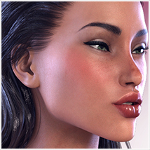 Z Sexy & Sensual - Morph Dial & One-Click Expressions for the Genesis 3 Females image 6