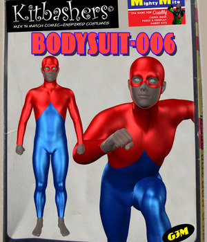 Kitbashers_Bodysuit-006 -- By MightyMite for G3M 3D Figure Assets MightyMite