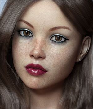 FWSA Gina for Victoria 7 and Genesis 3 3D Figure Assets Sabby