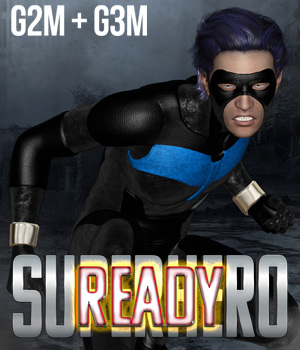 SuperHero Ready for G2M & G3M Volume 1 3D Figure Assets GriffinFX