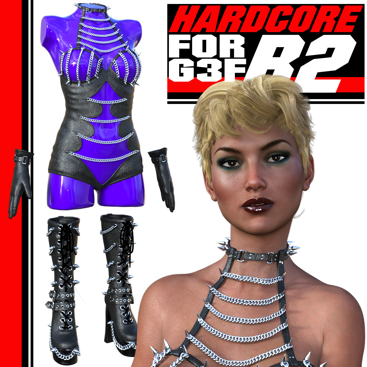 HARDCORE-R2 for G3 females